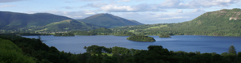 Derwentwater and Skiddaw from Catbells