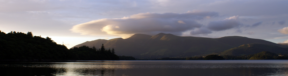 Skiddaw & Derwentwater from Borrowdale